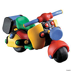 Motor Scooter Multicolor Construction Kit