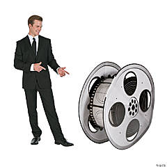 Movie Night Film Reel Stand-Up