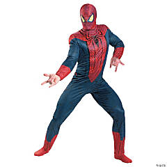 Movie-Quality XL Spiderman Costume for Men
