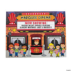 Movie Theater Sticker Scenes