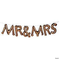 Mr. & Mrs. Balloon Garland