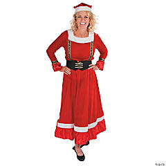 Mrs. Claus Costume for Women