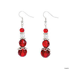 Mrs. Claus Earrings Craft Kit