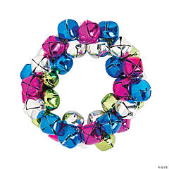 Multicolor Jingle Bell Bracelet Craft Kit