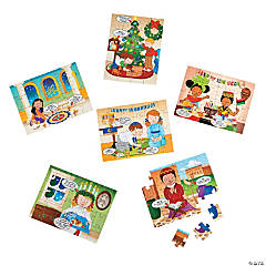 Multicultural Holiday Mini Puzzles