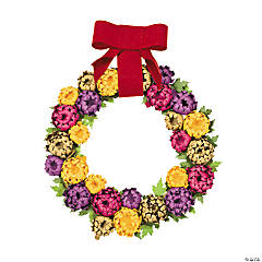 Mum Wreath Craft Kit