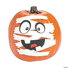 Mummy Pumpkin Decorating Craft Kit