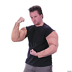 Muscle Arms Adult Men's Costume