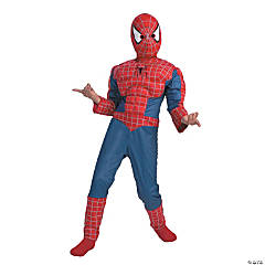 Muscle Spiderman Costume for Boys