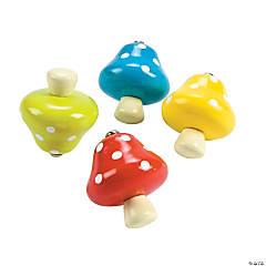 Mushroom Spin Tops