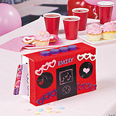 Music Speaker Valentine Exchange Boxes Idea
