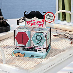 Mustache Calendar Blocks Idea