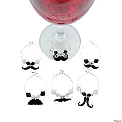 Mustache Drink Charms Idea