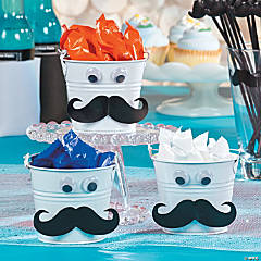 Mustache Favor Tins Idea