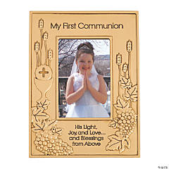 My First Communion Picture Frame