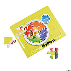 MyPlate Reveal Puzzles
