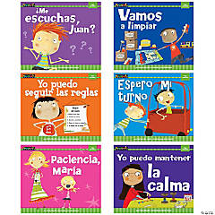 MySELF Readers: I Am in Control of Myself, Small Book, Spanish, Set of 6