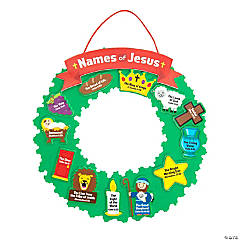"""Names of Jesus"" Wreath Craft Kit"