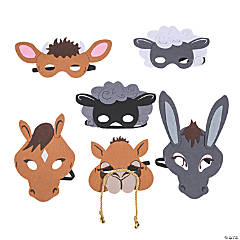Nativity Animal Masks