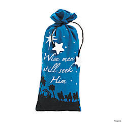 Nativity Bags with Ties
