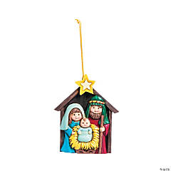 Nativity Christmas Ornaments