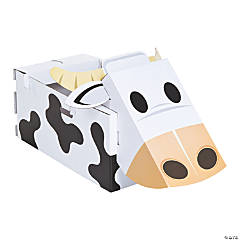 Nativity Cow Paper Box Costume