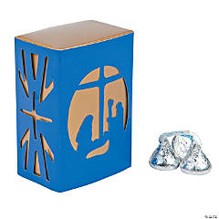 Nativity Die-Cut Favor Boxes