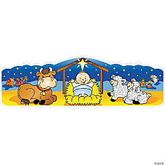 Nativity Door Banner
