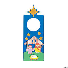 Nativity Doorknob Hanger Craft Kit