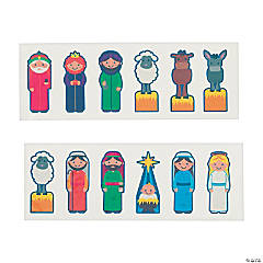 Nativity Finger Puppet Tattoos