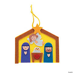 Nativity Ornament Craft Kit