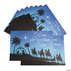 Nativity Place Mats
