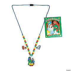 Nativity Scene Necklace Craft Kit