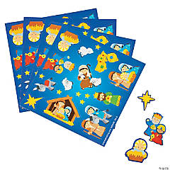 Nativity Treat Pack Stickers