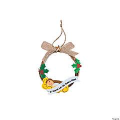 Nativity Wreath Ornament Craft Kit