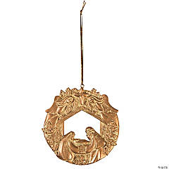 Nativity Wreath Ornaments