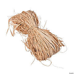 Natural Dried Raffia Ribbon