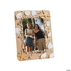 Natural Sea Shell Picture Frame Craft Kit