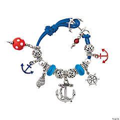 Nautical Anchor Bracelet Craft Kit