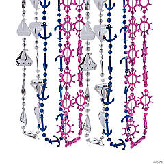 Nautical Bead Necklaces