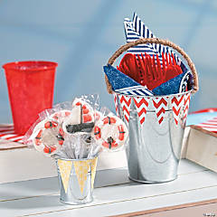 Nautical Buckets Idea