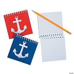 Nautical Cutout Spiral Notebooks