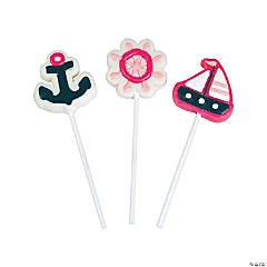 Nautical Girl Character Suckers