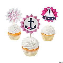 Nautical Girl Fan Food Picks