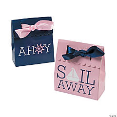 Nautical Girl Favor Boxes