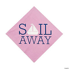 Nautical Girl Luncheon Napkins