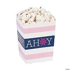 Nautical Girl Popcorn Boxes