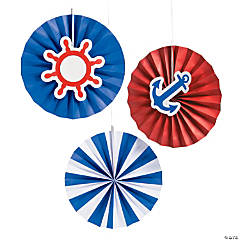 Nautical Hanging Fans