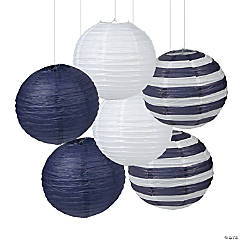 Nautical Hanging Paper Lanterns