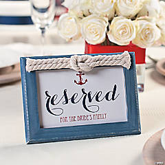 Nautical Knot Frame Sign Idea